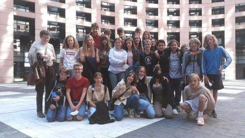 In Colmar und Straßburg konnten sich die Schüler von ihren Französischkenntnissen überzeugen.Gymnasium Schillerstrasse