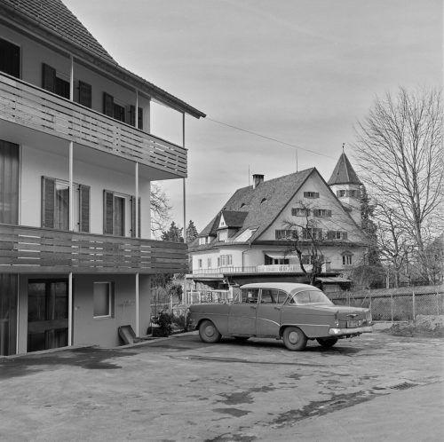 In der Oberdorferstraße, im Jahr 1961 oder früher.