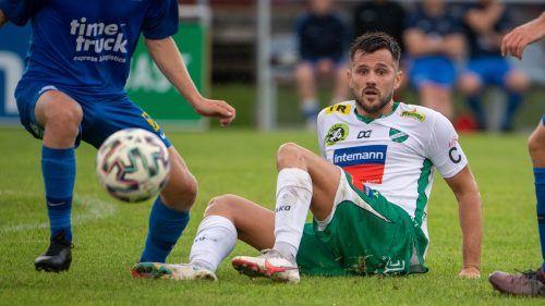 Ja nicht sitzenbleiben an der roten Laterne der VN.at-Eliteliga heißt das Motto des FC Lauterach in der Heimpartie gegen den Dornbirner SV.Lerch