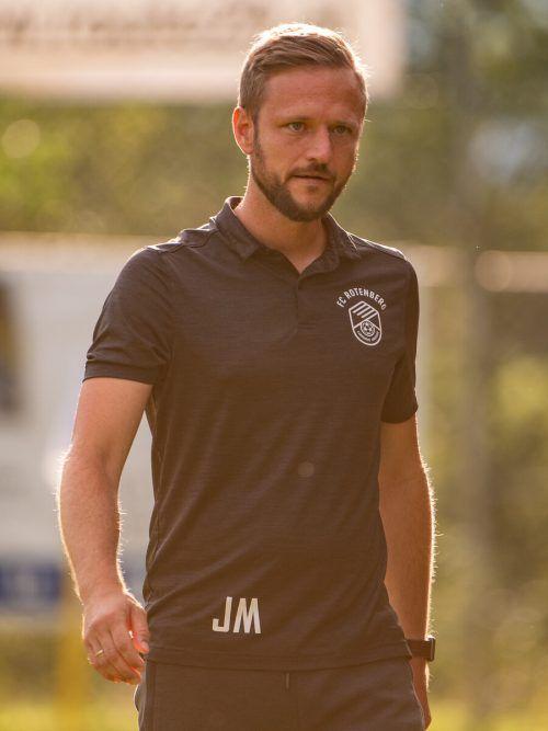 Jürgen Maccani und seine Rotenberger wollen beim FC Wolfurt überraschen.lerch