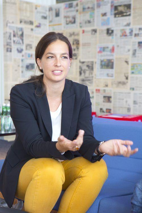 Jungen-Industrie-Vorsitzende Katharina Rhomberg-Shebl. VN/KH