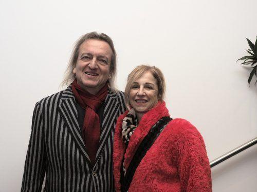 Kabarettist Markus Linder mit Sabine.