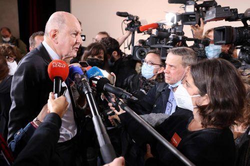 Kommissionspräsident Jean-Marc Sauvé trat gestern vor die Presse. afp