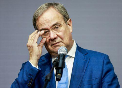 Laschet sieht nun die anderen beiden Parteien am Zug. AFP
