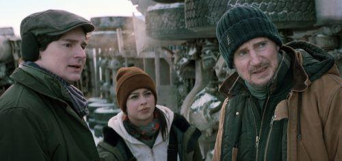 """Liam Neeson beweist in """"The Ice Road"""", dass winterliche Wetterbedingungen ihm nichts anhaben können. AP"""
