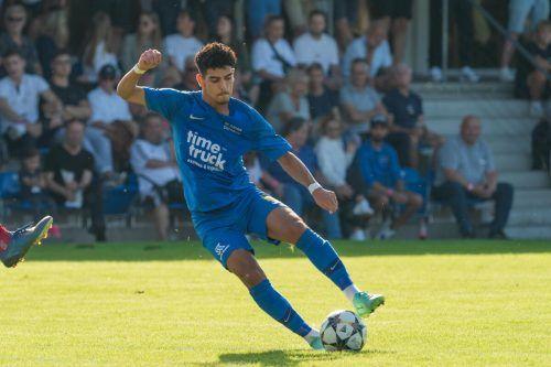 Magid Suleiman und seine Admira siegten bei Austrias Amateuren mit 3:0.stiplovsek
