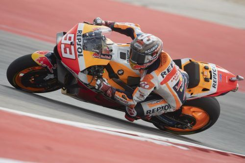 Marc Marquez ist der Spezialist in Austin. Der Spanier gewann den Texas-Grand-Prix zum siebten Mal.apa