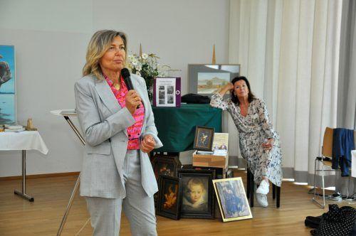 Marianne Grobner referierte zum Thema Frauen im Management.lcf