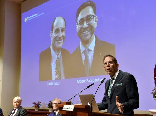 Mit der Bekanntgabe eröffnete das Komitee die diesjährige Nobelpreis-Woche. AP