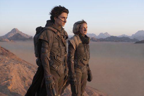 """Mit """"Dune"""" ist der große Kinoblockbuster aus seinem Coronatiefschlaf erwacht. AP"""