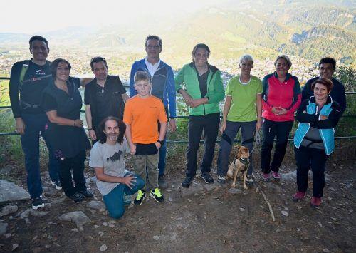 Mit einer gemeinsamen Wanderung startete die ummaKumma-Challenge. Mäser