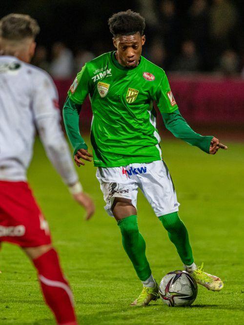 Muhammed Cham Saracevic steht erstmals im ÖFB-U-21-Nationalteam.GEPA