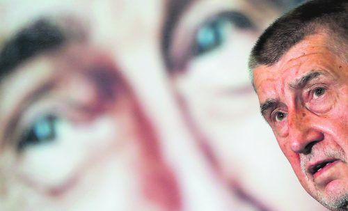 Noch ist unklar, ob Andrej Babis von Präsident Milos Zeman den Auftrag zur Regierungsbildung erhält. Zeman wurde gestern in ein Krankenhaus gebracht.Reuters