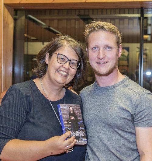 Nuria und Daniel Leeb freuen sich auf die Veröffentlichung von Daniels Lebensgeschichte.