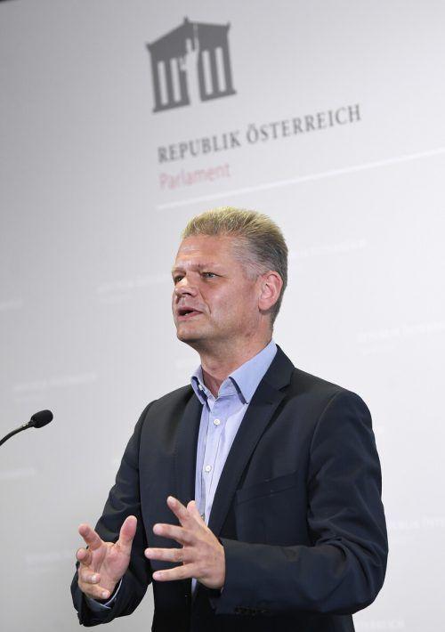 ÖVP-Abgeordneter Andreas Hanger greift die Justiz weiter an.APA