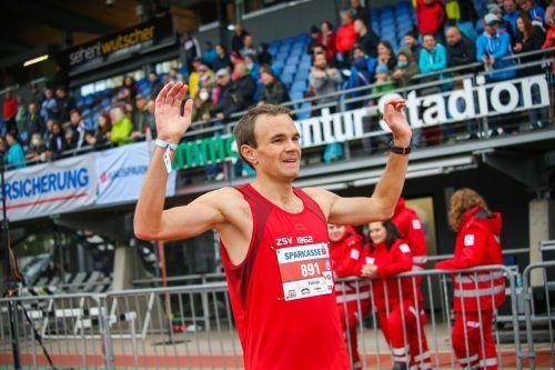 Patrick Spettel lief zum Titel über die Marathondistanz. In der Gesamtwertung belegte der Läufer von ZSV Laufteam Wolfurt als einziger Vorarlberger einen Top-Zehn-Platz.Steurer/4