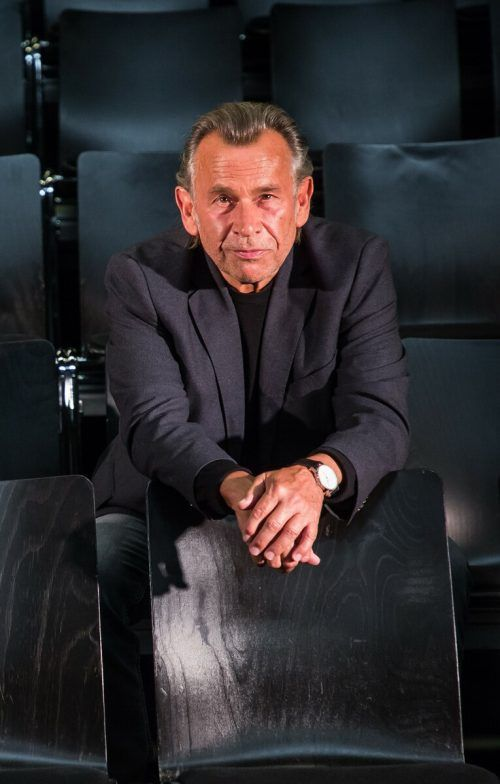 Schauspieler und Theaterleiter Hubert Dragaschnig. VN/Steurer