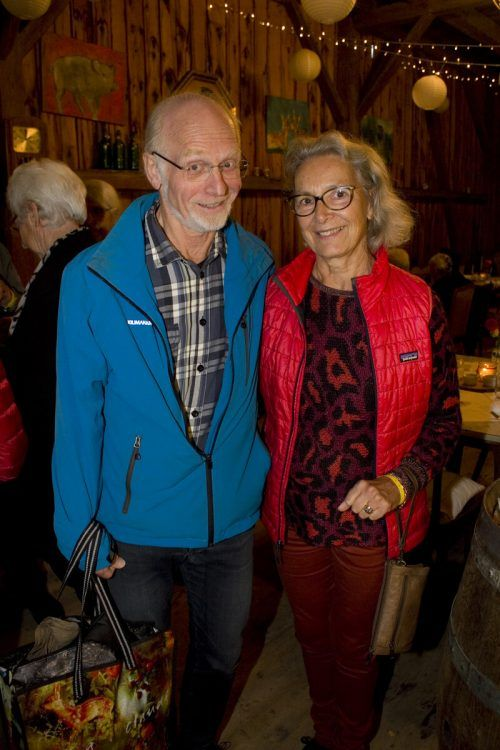 Silvia und Anders Gröndahl genossen Kulinarik mit Kultur.