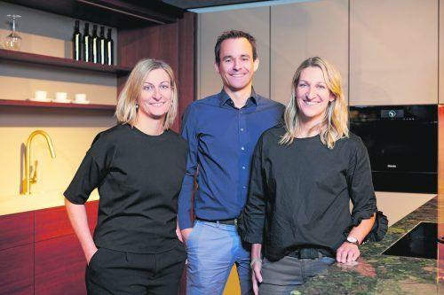 Starkes Team: Barbara Erath-Hutle, Mathias Giesinger, Judith Giesinger-Hutle.hutle