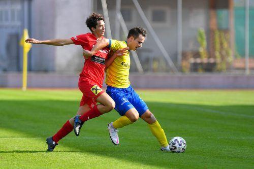 Stjepan Drobnak war zweimal für den VfB gegen Austrias Amateure erfolgreich.lerch