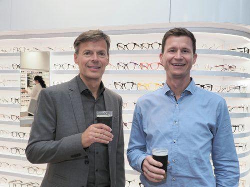 Thomas Bischof und Michael Mätzler (Servus Intralogistics).