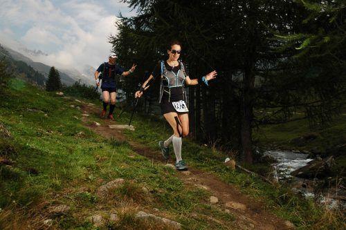 Über Stock und Stein läuft Julia Meyer-Rützler inzwischen am liebsten und ist auch da schnell.