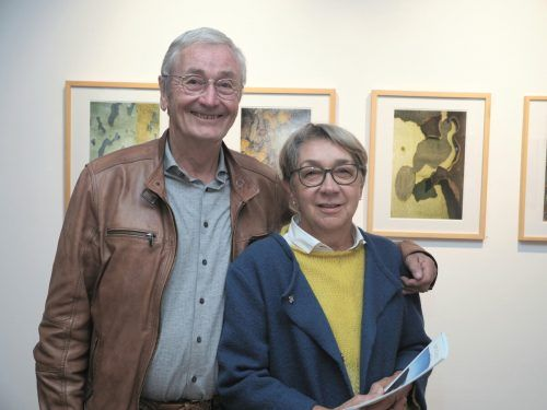 Unter den Besuchern: Karl-Heinz und Maria Fritsche.