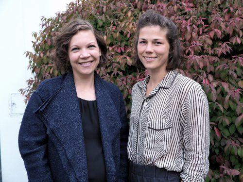 Verena Marte und Lisa Cancola (Kreativ Agentur Mohap).
