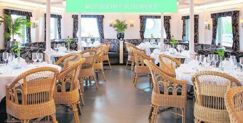 VN-Abonnenten können 2 x 2 Karten gewinnen für ein Martiniganserl-Essen an Bord der MS Oesterreich – an einem Termin nach Wahl im November.veranstalter