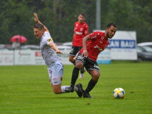 Wenn der FC Rotenberg und der FC Egg aufeinandertreffen, ist Spannung garantiert. Das Hinspiel in der VN.at-Eliteliga konnte Rotenberg knapp mit 3:2 gewinnen. lerch