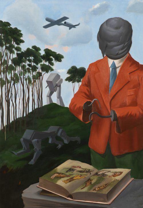 Werke von Mihael Milunovic in der Galerie 60 in Feldkirch. galerie/mIlunovic